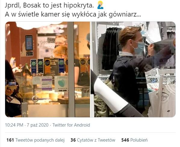 Krzysztof Bosak - Twitter