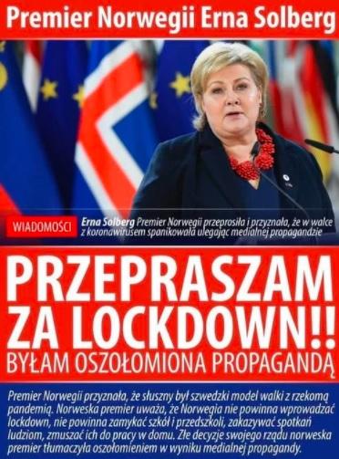 Premier Norwegii