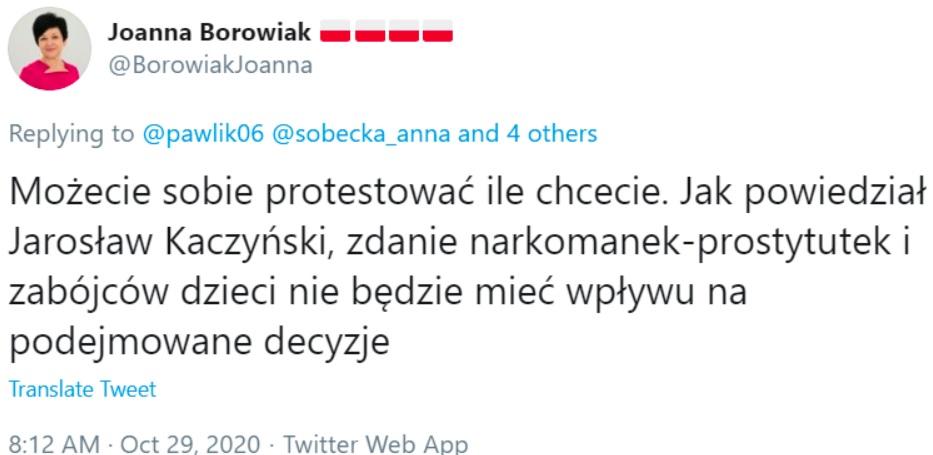 Protest - Borowiak
