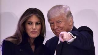Donald Trump i Melania Trump
