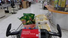 Wózek z zakupami